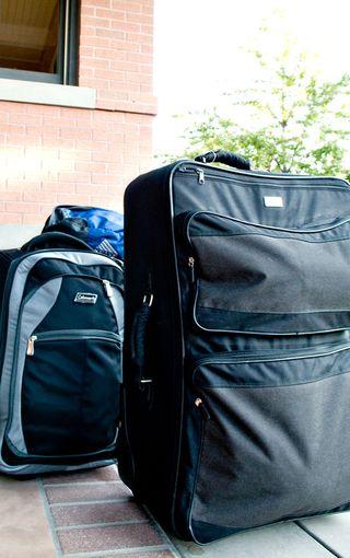 Ski's-suitcases