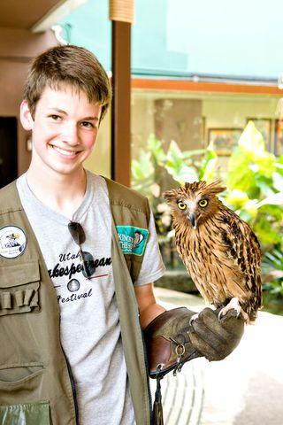 Mc-with-owl