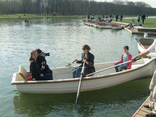 Me rowing