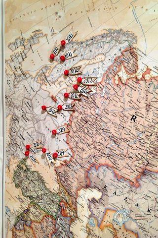 Ski's-map