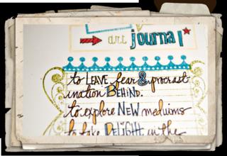 Art journal pg1 closeup3
