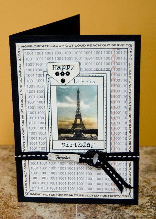 Librarybirthdaycard